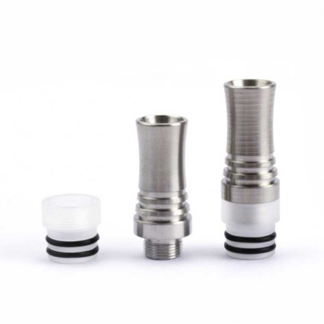 510 9 holes long stainless steel SS Drip tip
