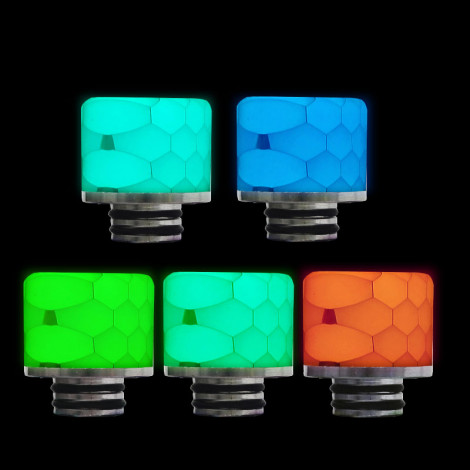 810 Luminous Drip Tip Ships in Random Colors