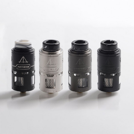 Authentic Tauren ThunderHead Creations THC Artemis RDTA 24mm Diameter Vape Atomizer