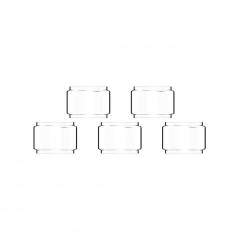 5 PCS Replacement Straight Bulb Glass Tube for Vandy Vape BERSERKER MTL RTA 6ml