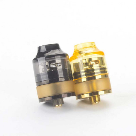 Coil Father Nano RDTA Tank 2ml 22mm Diameter Atomizer Easy Building Deck Adjustable Airflow Support OEM