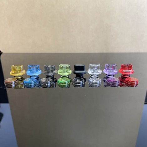 510 Drip Tip & Fire Button 2 in 1 for DotMod DotAIO