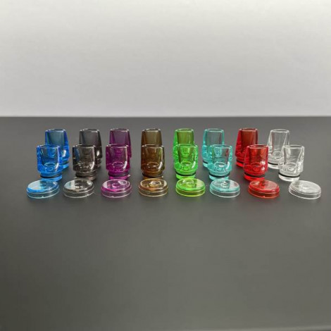 510 Drip tip and fire button 3 in 1 for dotmod dotaio kit