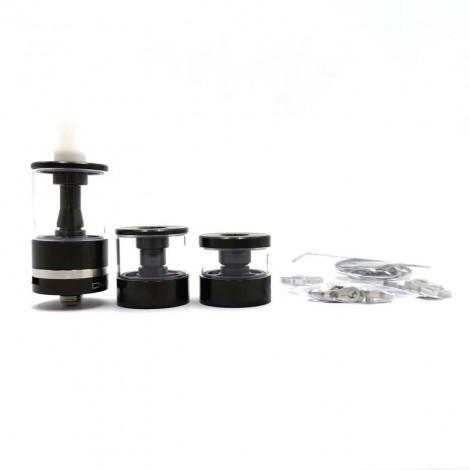Dvarw MTL FL Facelift Style Black Silver RTA Vape Atomizer 22mm RTA 3.5ML 5ML