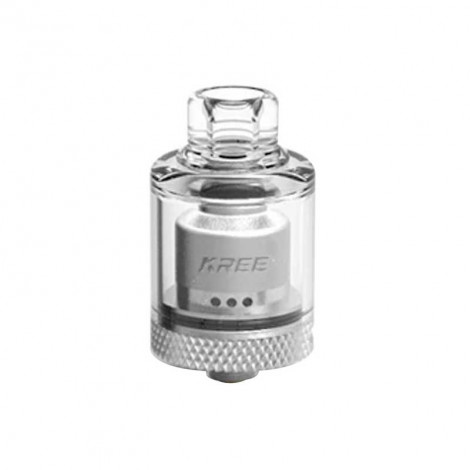 Authentic Gas Mods Kree 3.5ml 22mm RTA Rebuildable Tank Vape Atomizer w/ A Spare PC Tank Tube
