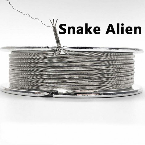 Snake Alien 1 4 10Feet Coil Wire Heating Wire High Density Rebuildable Atomizer Heating DIY Coil