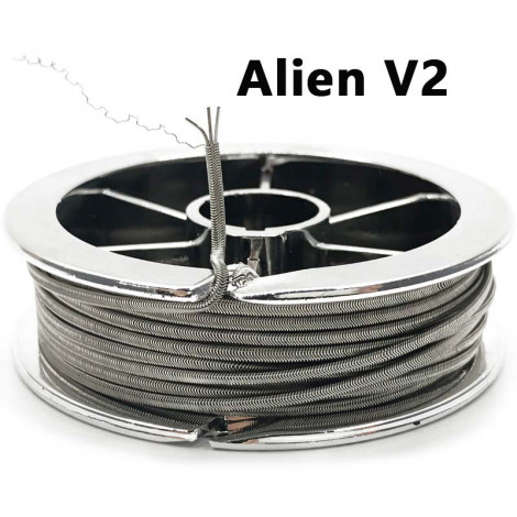 Alien V2 10Feet Alien V2 Coil Wire Heating Wire High Density Rebuildable Atomizer Heating DIY Coil