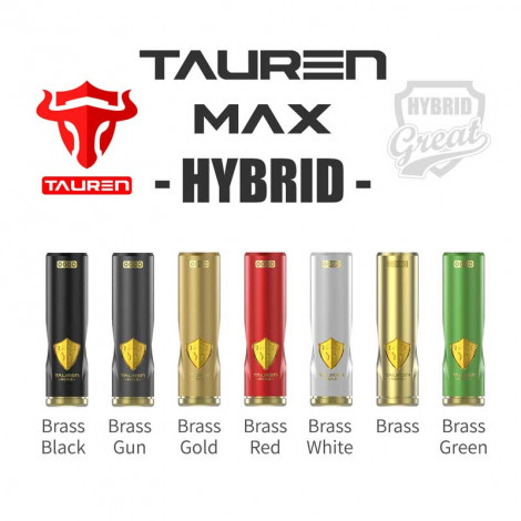 Authentic THC Tauren Max Hybrid Mod With Smart X Chip 2 In 1 Design 18650 20700 21700