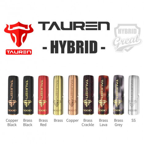 Authentic THC Tauren Hybrid Mod With Smart X Chip 2 In 1 Design