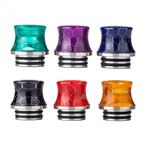 510 resin + SS Snake Drip tips random color delivery