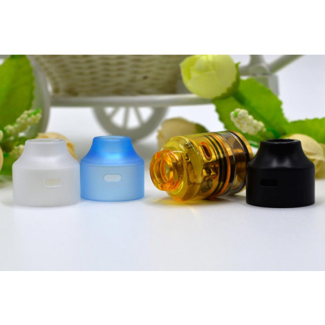 POM PC PEI Replacement Top Cap For Wasp Nano RDTA 22mm