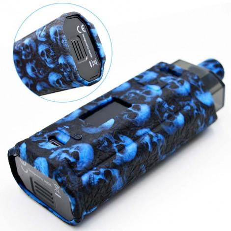 Protective Silicone case cover shield wrap Skin Skull Head For RPM160 160W POD Kit