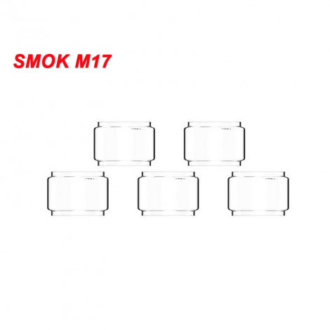 Replacement Glass Tube For Smok Stick M17 5Pcs / Pack