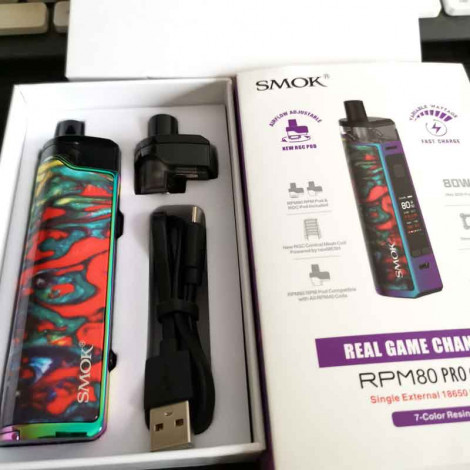 (Video Sample)SMOK RPM80 RPM 80 Pro 80W