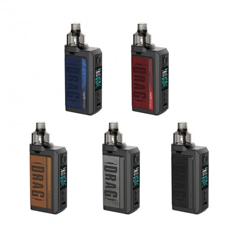 Authentic Voopoo Drag Max 177W 2 x 18650 VW Pod System Vape Box Mod Kit