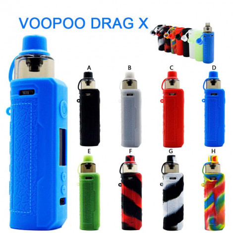 Protective Silicone case Skin for Voopoo Drag X Pod kit