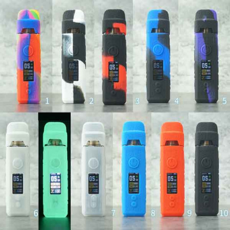 Protective Silicone case cover Skin decal wrap for voopoo vinci Vape Pod Kit