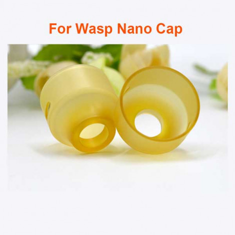 Replacement PEI/PC/POM/Resin Top Cap for WASP NANO RDA 22mm