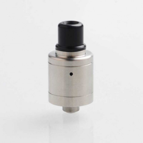 YFTK Speed Revolution 2019 Style RDA Rebuildable Dripping Atomizer w/ BF Pin - Silver, 316 Stainless Steel, 18mm Diameter