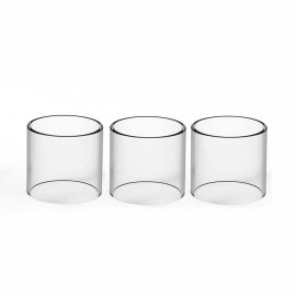 3PCS Replacement Straight Fat Glass Tube for Smok TFV16 Lite Tank