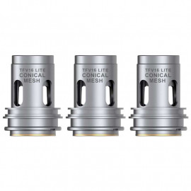 Authentic SMOKTech SMOK Conical Mesh Coil Head for TFV16 Lite Vape Tank 0.2ohm (60~85W) (3 PCS)