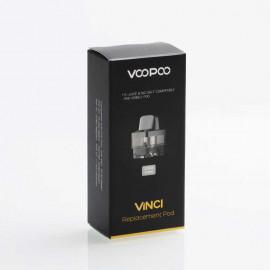 Authentic VOOPOO VINCI / VINCI X Mod Pod Replacement Empty Pod Cartridge 5.5ml 2PCS