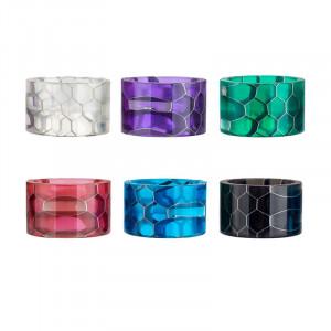 Epoxy Delrin Drip Tip Cobra Snake Skin Mouthpiece for Smok TFV8 Baby V2 Random Colors