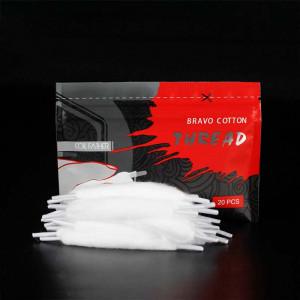 20pcs/bag Bravo Cotton Orgnic Cotton for Ecigarette Rebuildable RDA RBA DIY Vapor Cotton