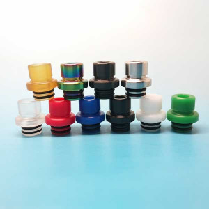 510 stainless steel PEI multiple colour Choice Vape Drip Tip