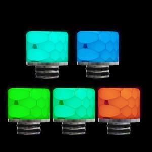 510 Luminous Drip Tip Ships in Random Colors