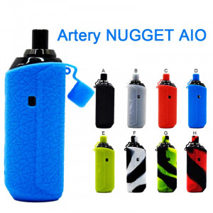 Protective Silicone case cover Skin decal wrap for Artery NUGGET AIO Pod kit