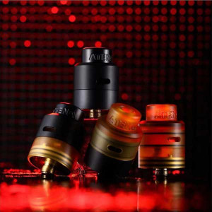 Original Civanpor Atena 24mm RDA 316 Stainless Steel PEI Brass for Squonk Kits
