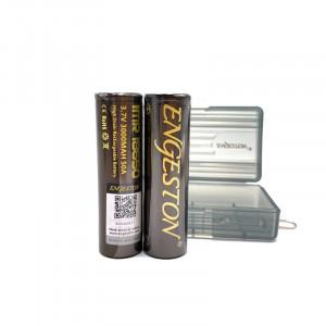 2PCS/Box Authentic Engeston IMR 18650 3.7V 3000mAh 50A Rechargeable Li-ion Battery