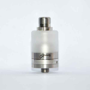 1:1 Bastard Style RTA MTL or DTL 316 Stainless Steel 22mm 3.5ml capacity tank airflow control top filling system