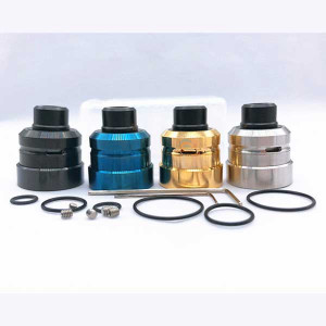 Momovaping Daywon RDA Atomizer 304 SS DIY Taste RDA 22mm 24mm Diameter for 510 Thread Mods RDTA RBA Tank