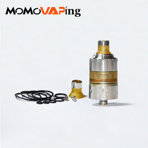 Mojia Coppervape Hussar project X MTL style RTA 22mm atomizer 316 stainless steel and Accessories Drip tip Pei Tube