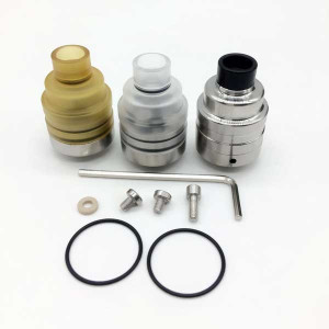 Momovaping Duetto Reborn RDA 22mm stainless steel