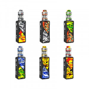 Authentic FreeMax Maxus 100W 21700 / 20700 / 18650 TC VW Box Mod And Fireluke 3 Tank Vape Kit