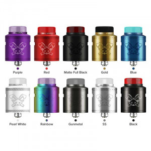 Authentic Hellvape Dead Rabbit V2 24mm RDA Rebuildable Dripping Atomzier w/ BF Pin