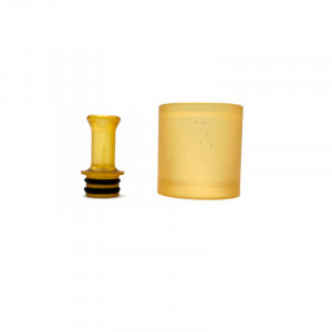 PEI Drip Tip And Tube for TaiFun TF Gtr 23mm RTA