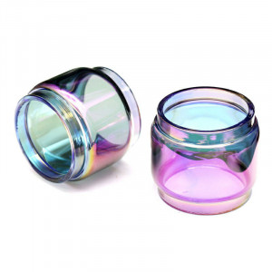 3PCS Luxe Nano SKRR-S Mini Rainbow Transparent Expansion Glass Tube Replacement