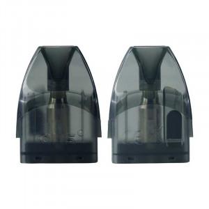 Authentic OBS Cube Pod System Vape Kit Replacement Pod Cartridge w/ 1.4ohm Coil - Black, 4ml (2 PCS)