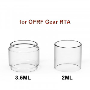 3PCS Replacement Glass Tank Tube for OFRF Gear RTA 3.5ml Straight Glass