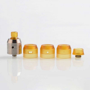 Pelso V3 Style 22mm 316SS RDA Rebuildable Dripping Atomizer With Cap Kit