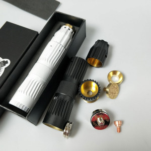 japan model mech mod style and Predator RDA mod style kit Brass Material For 18650 Battery Vape Mods fit 510 Thread mod
