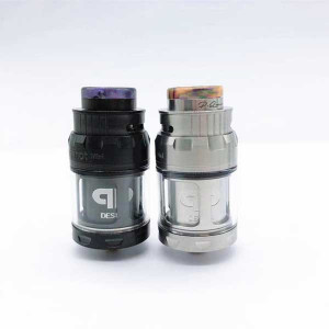 Momovaping JuggerKnot QP Mini RTA 24mm 316 Stainless Steel Adjustable top airflow vape Tank