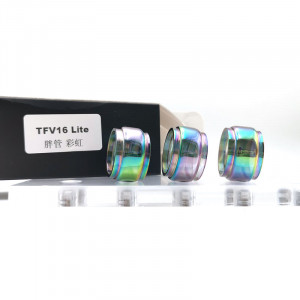 Replacement Glass Tube For TFV16 Lite Tank Rainbow (Not for TFV16)
