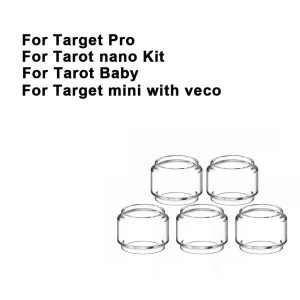 Replacement Pyrex Fat Bubble Glass Tube Tank For Target Pro / Tarot Nano Kit / Tarot Baby / Target mini