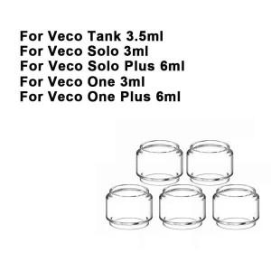 Replacement Pyrex Fat Bubble Glass Tube Tank For Veco Tank / Veco Solo / Veco Solo Plus / Veco One / One Plus