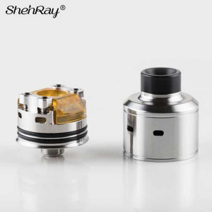 Shenray Citadel Style RDA Rebuildable Dripping 22mm Atomizer w/ BF Pin